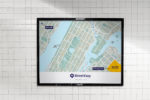StreetEasy Find Your Place Advertising Subway Campaign Venn Ven Diagram Interesting Development Illustration