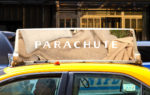 Parachute Sheets Advertising Campaign Subway Let Outside In Interesting Development